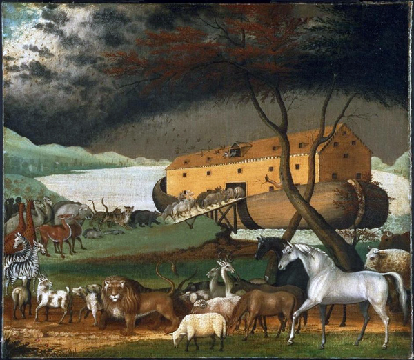 1846 painting of Noah's Ark