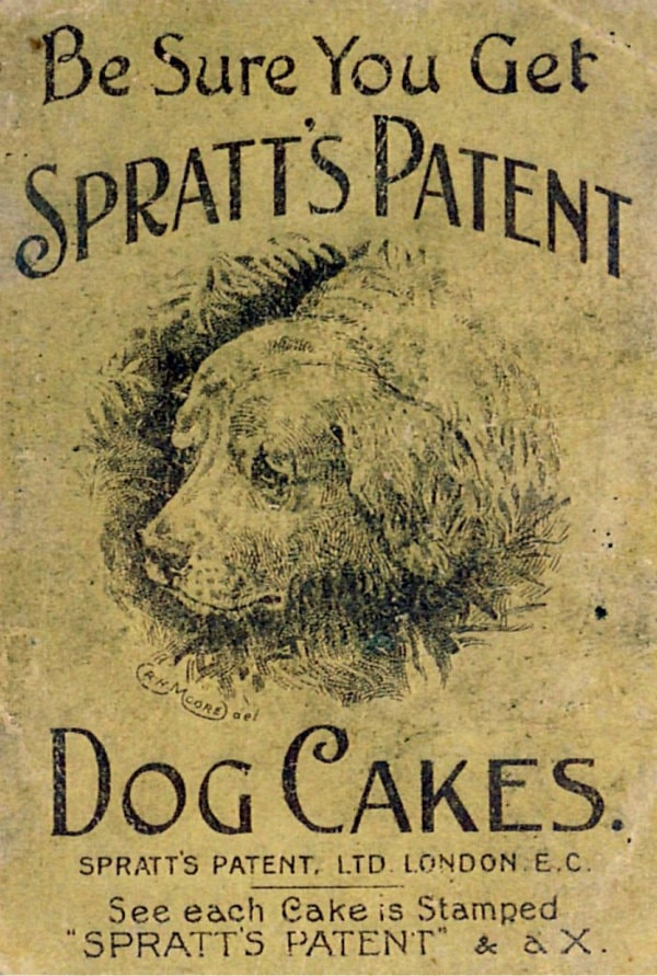 Old Spratts dog-food advert